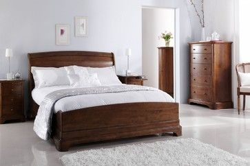 Willis and Gambier Lille Low Footboard Bed - traditional - Sleigh Beds - East Midlands - Hansons of Leicester Ltd