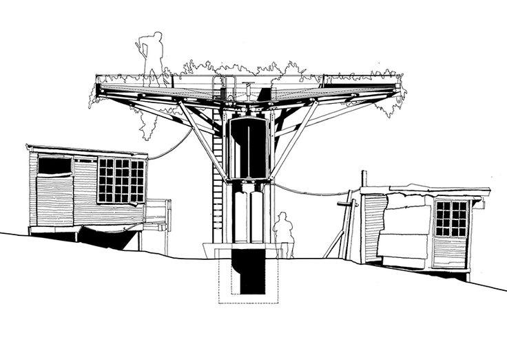 Noero Architects' energy tree - detail