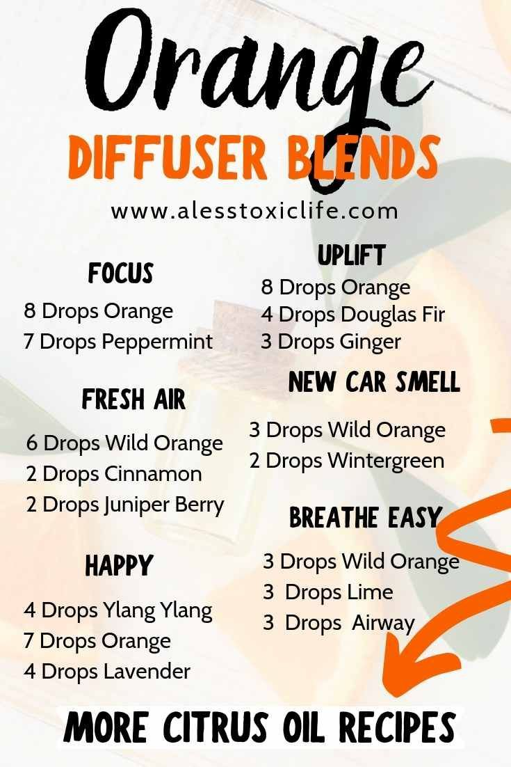 19+ Wild orange essential oil blends ideas in 2021