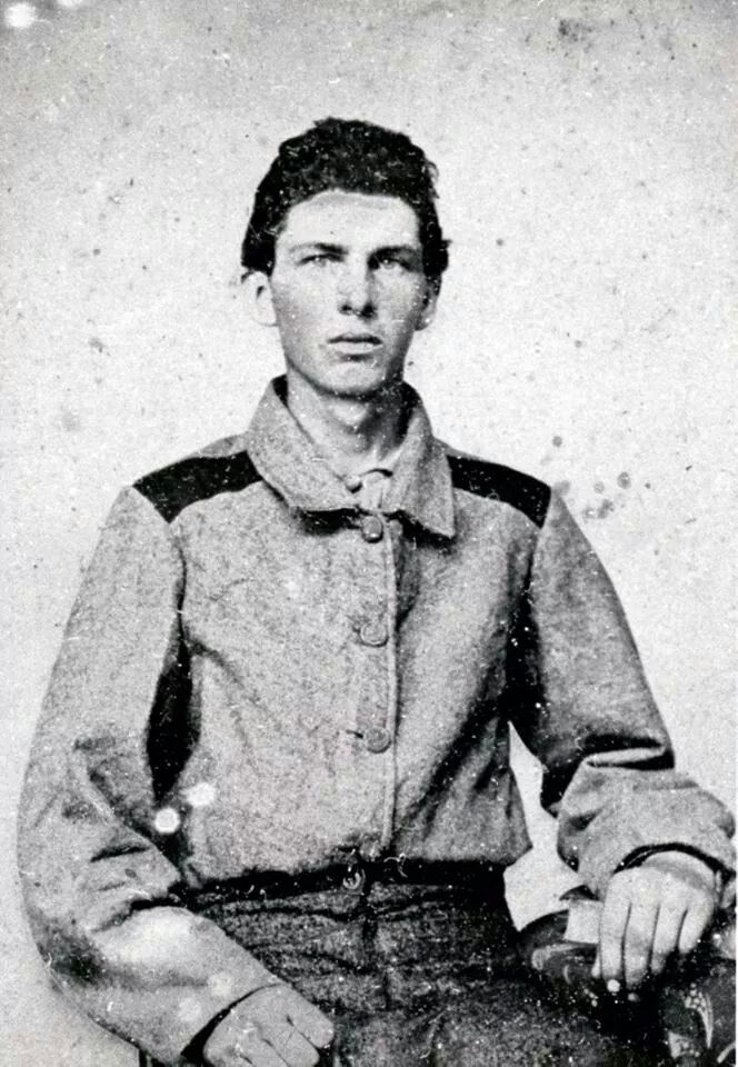 """Pvt. John H. Powell Co. G """"the Caswell Rifles"""" 22nd NC State Troops, 12th NC State Volunteers, died of Typhoid Pneumonia June 1862 in Danville, Virginia"""