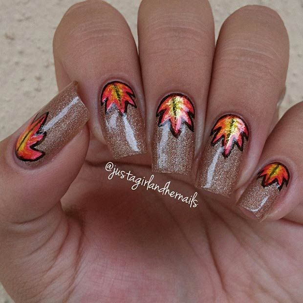Cool Nail Designs For Fall: 17 Best Images About Prom Nails On Pinterest