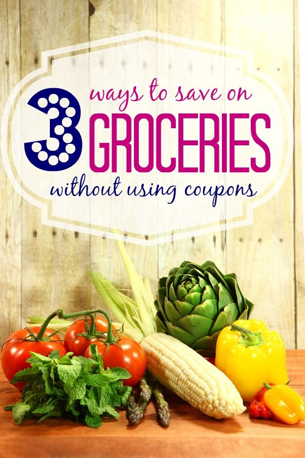 3 Ways to Save Money without Using Coupons!