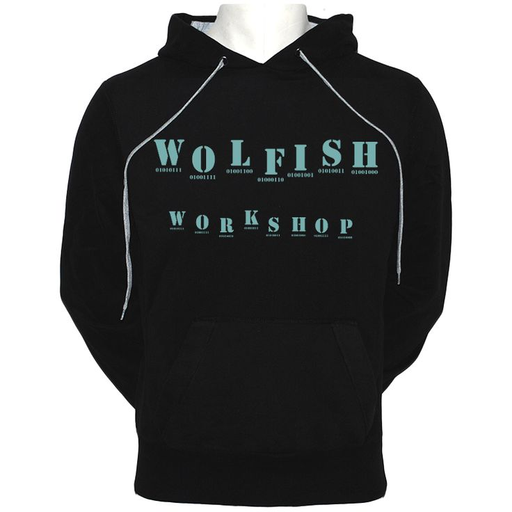 Binary Hoodie – WOLFISH WORKSHOP