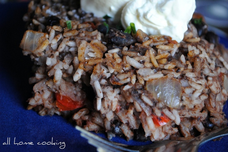 Spanish Black Beans and Rice | Food: Rice | Pinterest