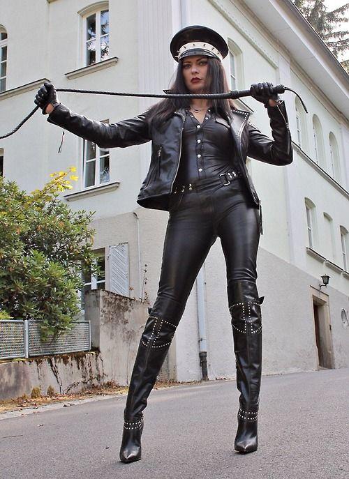 Fetish Diva Nadja | Ladies in Boots | Кожа