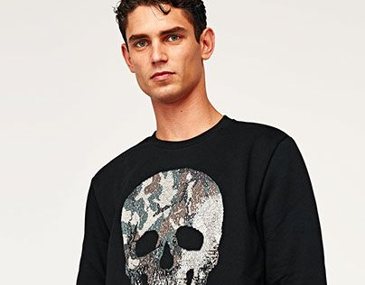 "Check out new work on my @Behance portfolio: ""CAMOUFLAGE SKULL 