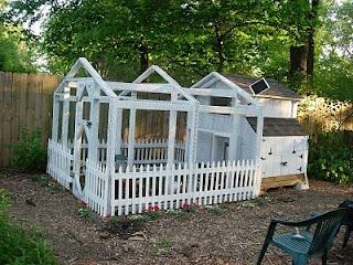 White Picket Chicken Coop and Yard: Picket Chicken, Raising Chickens, Blogger Chicken, Chicken Coops, Chicken Care, Chicken Yard, Chickens Rule, Yards