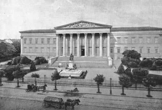 Nemzeti Múzeum, Budapest //Pollack Mihály