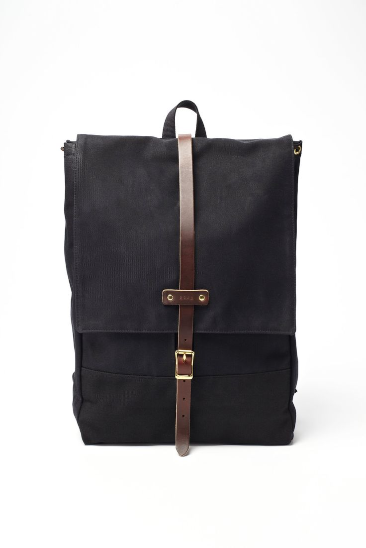Archival Clothing Rucksack Waxed Canvas Backpack ...