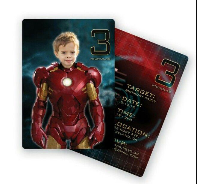 Invitation Idea, Iron Man