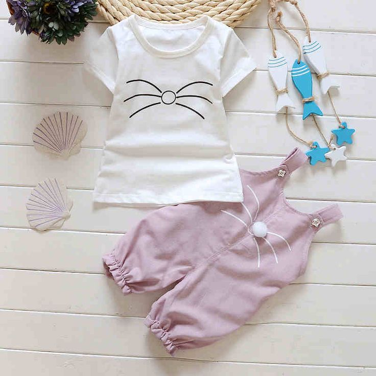 Девушки весной и летом 2016 новый женский костюм младенца комбинезон костюм футболка + комбинезон шт -tmall.com Lynx