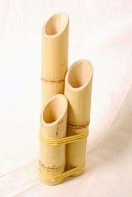 Artesanato em bambu