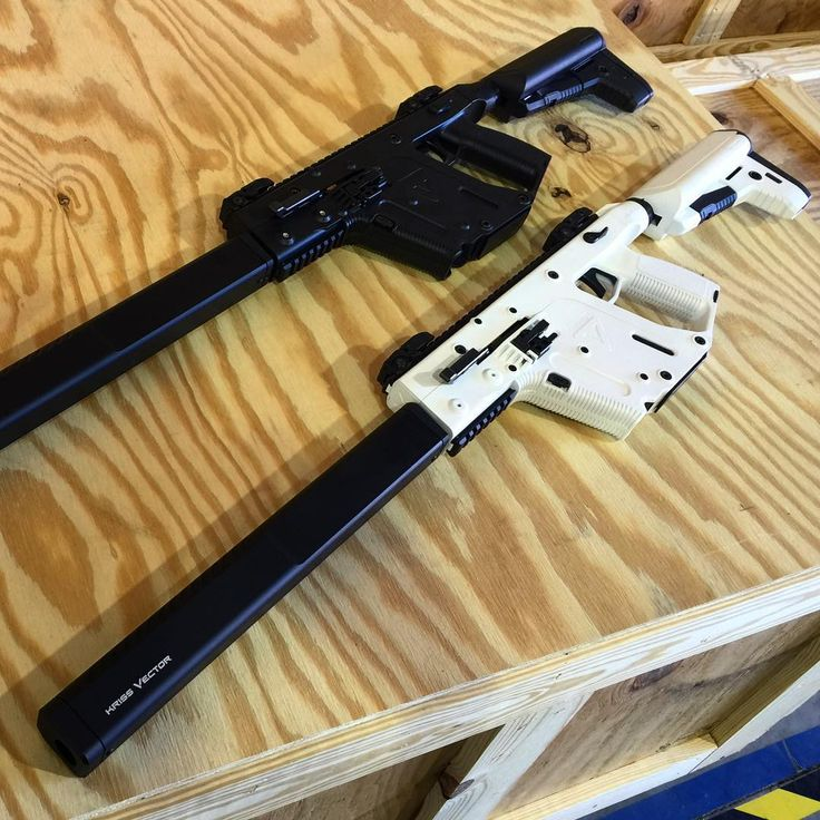 """The Canadian legal 18.6"""" barreled version of the @krissarms Vector.  #krissarms #KRISSVector #KRISS #vector #carbine #alpinewhite #canada"""