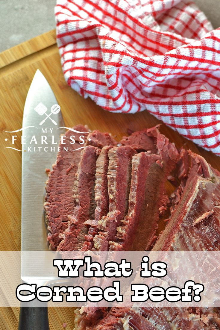 What is Corned Beef? from My Fearless Kitchen. Corned beef is a classic dish for Saint Patrick's Day. It also makes a delicious sandwich anytime! Have you ever wondered just exactly what is corned beef?