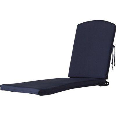 Trex Trex Outdoor Chaise Cushion Sunbrella Color: Navy