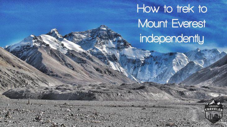 Visit Mt.Everest basecamp in Nepal
