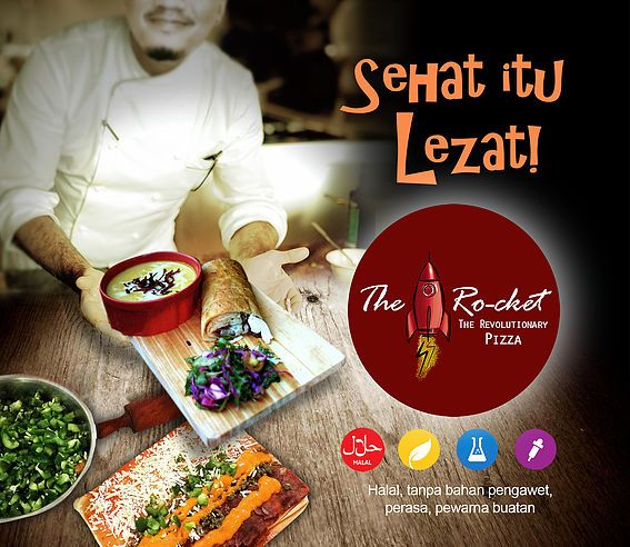 Sehat itu Lezat | Rocket Pizza Indonesia | Revolutionary Pizza