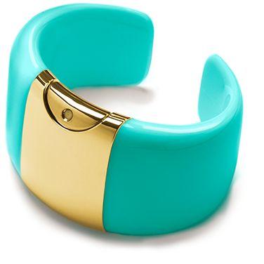 Armida Touch bracelet - fragrance dispenser Aquamarine GOLD!    @armidatouch  http://www.armidatouch.com/create-bracelet
