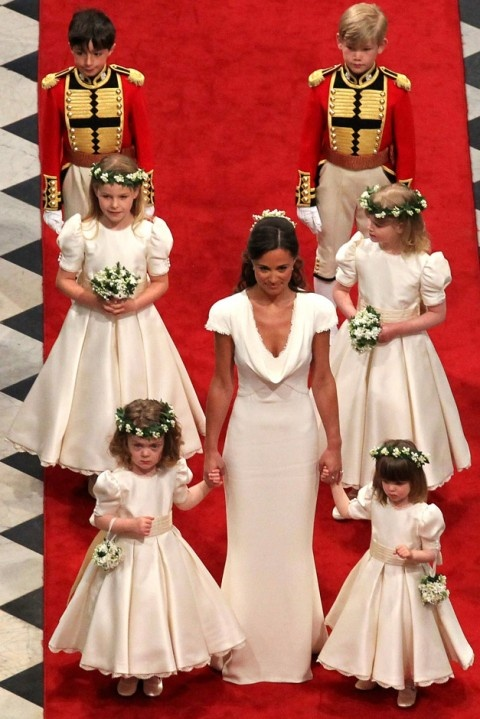 Pippa has an amazing bridesmaid gown!!