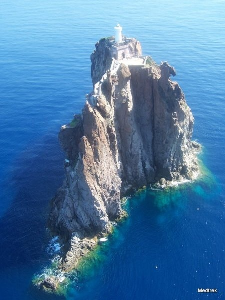 Strombolicchio - The lighthouse
