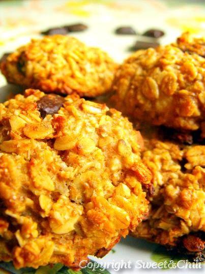 Mocno bananowe ciasteczka owsiane - http://www.mytaste.pl/r/mocno-bananowe-ciasteczka-owsiane-4154241.html