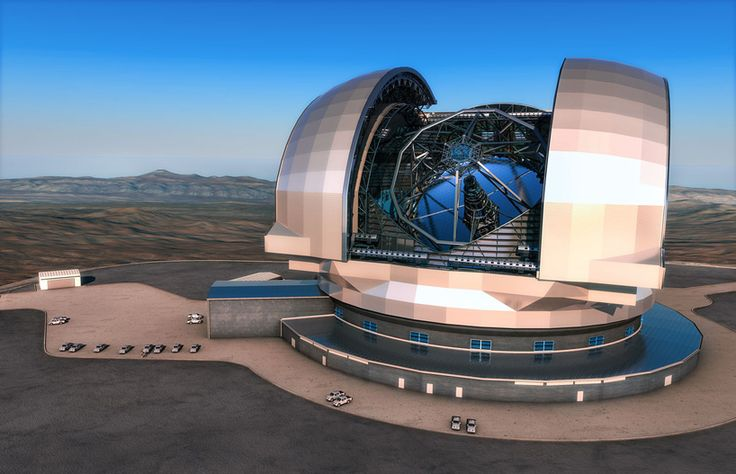 european extremely large telescope sited in chilean atacama desert