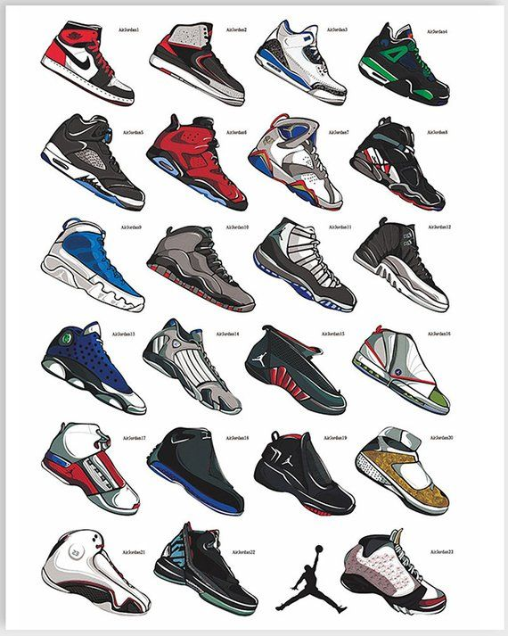 deco chaussure nike