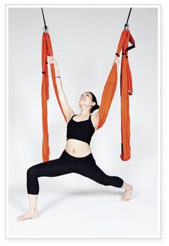 Yoga Pose Toturials: Yoga Trapeze Swing