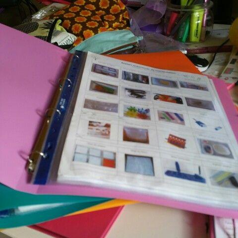 Classeur individuel de suivi des ateliers montessori et des défis. Maternelle Cycle 1