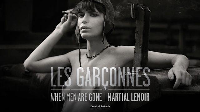 """"""" Les Garçonnes - When men are gone """" Le prochain beau-livre photo de Martial Lenoir """" When men are gone """" est le premier livre issu de la série des Garçonnes de Martial Lenoir, fruit d'un travail de cinq ..."""