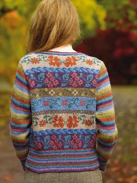 58 best Fair Isle knitting images on Pinterest   Beautiful, Colors ...