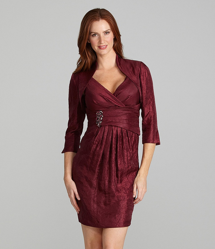 39 best vestidos clasicos images on Pinterest   Dillards, Business ...