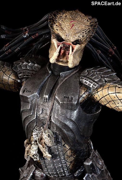 Alien vs. Predator: Scar Predator - Deluxe Statue, Fertig-Modell, http://spaceart.de/produkte/avp006.php