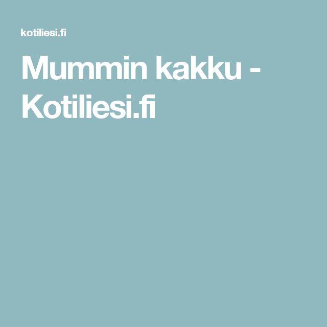 Mummin kakku - Kotiliesi.fi