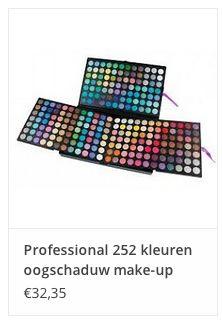 Professional 252 kleuren oogschaduw make-up € 32,35 www.ovstore.nl/nl/professional-252-kleuren-oogschaduw-make-up-palet.html