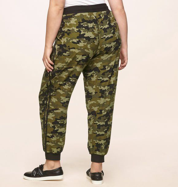 825a92db2407e Shop for new army looks like our plus size Camo Jogger available in sizes  14-24 online at loralette.com. Avenue Store