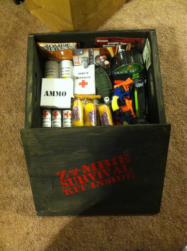 My take on a zombie survival kit