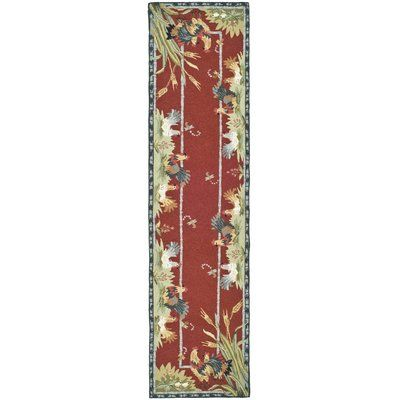 """August Grove Isabella Country Novelty Rug Rug Size: Runner 2'6"""" x 8'"""