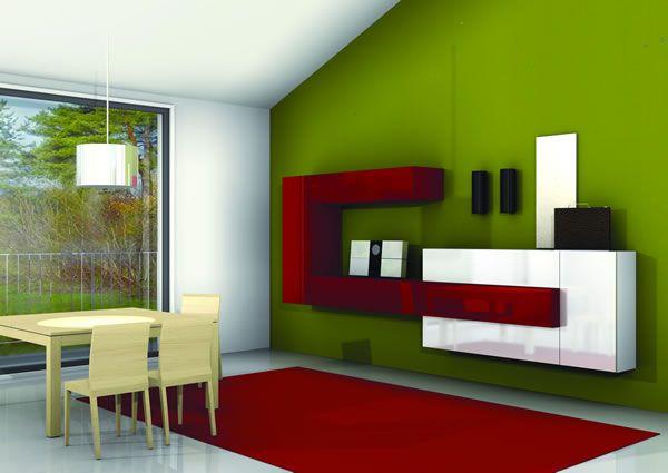 colore parete | arredamento casa | pinterest - Pareti Soggiorno Verde Acido