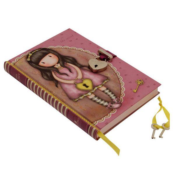 Σημειωματάριο ημερολόγιο Santoro gorjuss με κλειδί – The secret