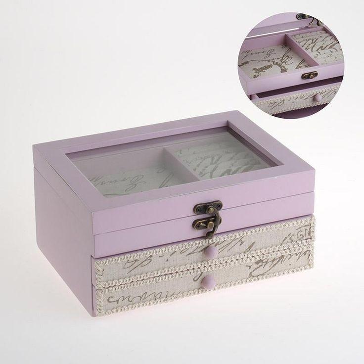 Wonderful #romantic #Jewelry box! www.inart.com