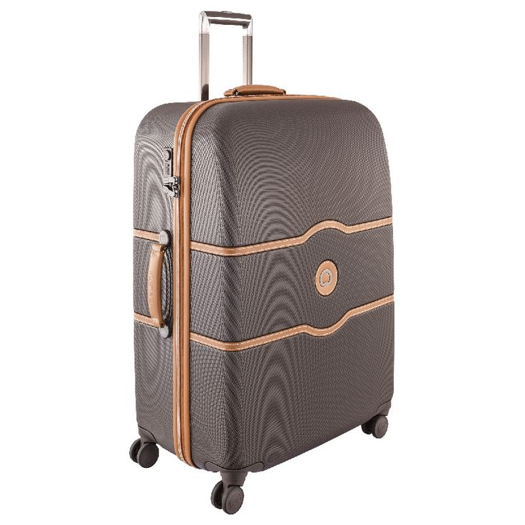I really like this luggage collection with a vintage look; however, it may be discontinued. (Shown: Delsey - Chatelet Hard Plus 77cm Large 4 Wheel Suitcase - Chocolate $332.50)