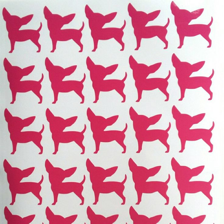 Just in...cute Chihuahua stickers now available