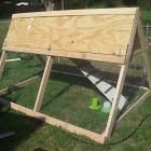 Ana White | Build a A Frame Chicken Coop | Free and Easy DIY Project and Furniture Plans: Coop Design, A Frame Chicken, Chicken Infrastructure, Chicken Tractors, Chicken Coops, Chicken ️, Chicken Stuff, Chicken Ranch, Ana White