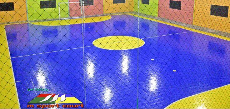 Kontraktor Lapangan Futsal, Lantai Futsal