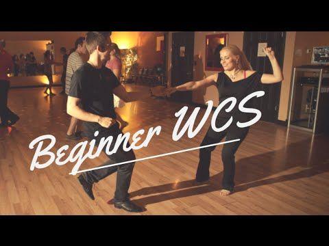 West Coast Swing Basic Steps // Beginner WCS - YouTube