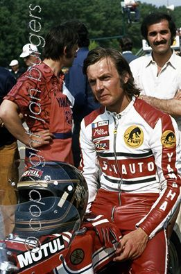 Patrick Pons France. GP Imola Italy 1974. Pic: Jan Burgers..