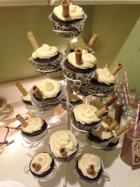 Moccachino Cupcakes