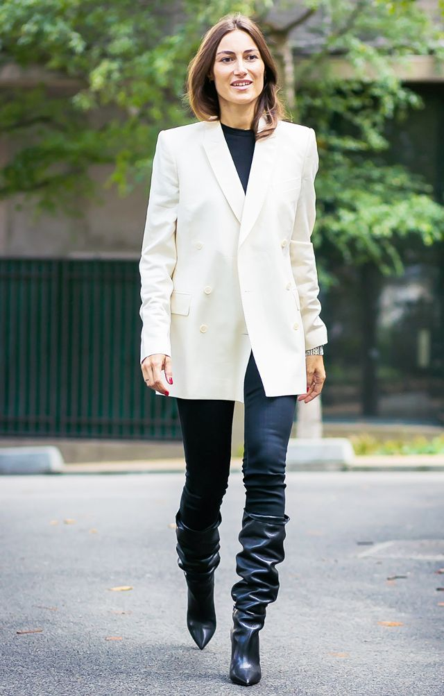Slouch boots outfit