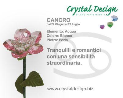 Crystaldesign.biz by Guerra sas - HandMade in Italy - Crystal Design by Guerra I.E. sas - Varese - Milano - Italy - fiori cristallo bomboniere articoli regalo crystal gift flower crystal